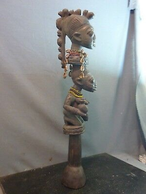 Collectable Eshu/Elegua Staff, Yoruba / Nigeria / Santeria