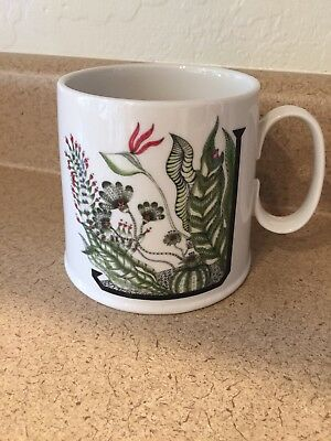 J Mug Drawing By Florence Balducci For Anthropologie
