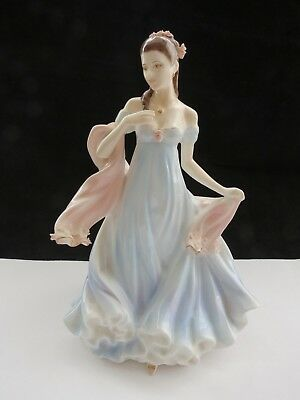 Royal Worcester With All My Heart Figurine Ltd Edition With Certificate