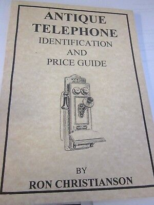 Antique Telephone Identification and Price Guide - Book