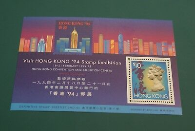 HongKong Block 27 ** Internationale Briefmarkenausstellung HONG KONG '94 (I)
