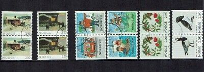 Norway stamps booklet Pairs