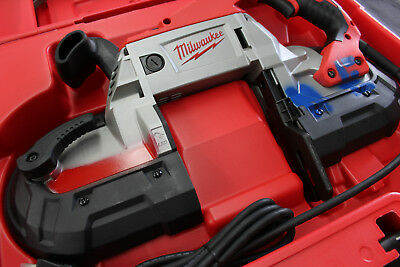 Milwaukee 6232-20 Deep Cut Variable Speed Band Saw BRAND NEW IN CASE & 3 BLADES!