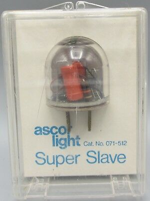 Ascor Light Super Slave 071-512 - In Package w/ Instructions