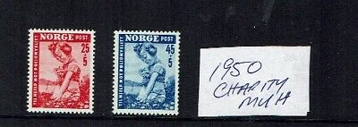 Norway stamps 1950 Charity MUH