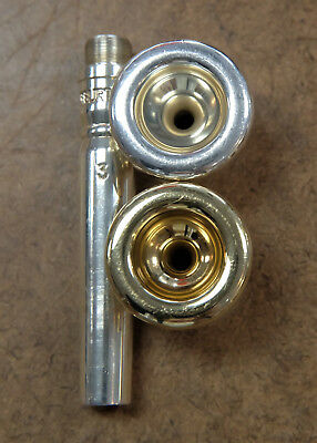 Warburton Trumpet Mouthpiece- USED with extra top- 3/4M/5MC