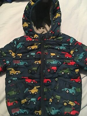 MandS Boys Padded coat 12-18 Months