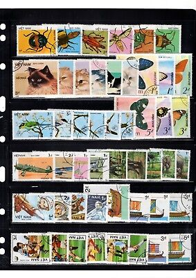 Vietnam Various Sets/part Sets/singles Stamps From Collection Rf/18