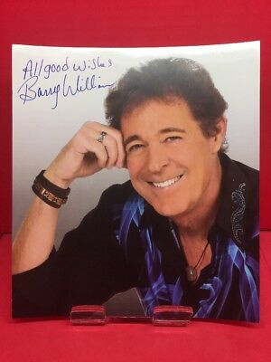 Barry Williams Signed Photo Brady Bunch Letter Of Authenticity