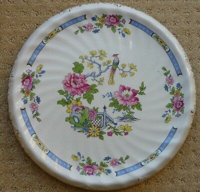 Lord Nelson Ware TSING Pottery Serving Plate or Base for a hot Serving Dish