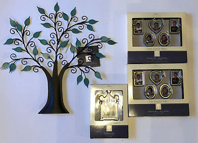 Hallmark Family Tree with 3 sets of Frames