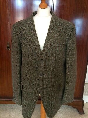 Vintage Mens Tweed Jacket - 1970s Retro Made In England