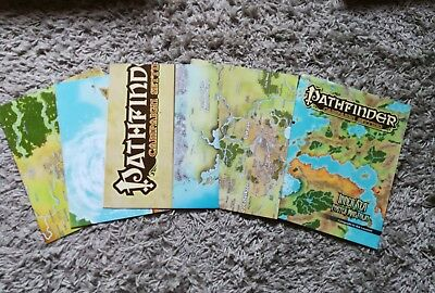 Pathfinder Inner Sea Map Folio Golarion
