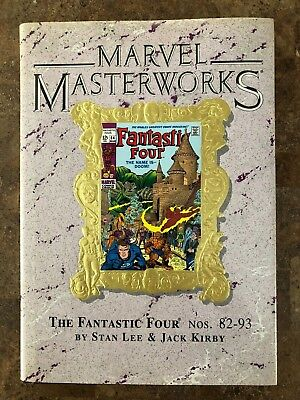 Marvel Masterworks Vol #53  - The Fantastic Four - Variant Cover  Hc - Oop - Use