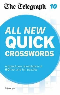 The Telegraph: All New Quick Crosswords 10 9780600633181 (Paperback, 2016)