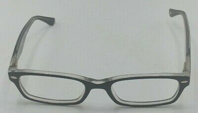 7f289e03de AUTHENTIC RAY BAN RB5206 2479 Unisex Black on Red Rx Eyeglasses ...