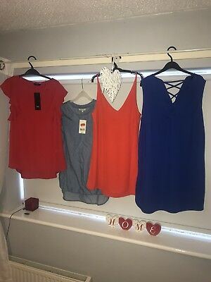 Ladies Top Bundle Size 8-10
