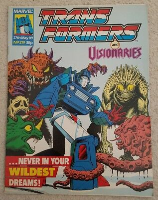 Transformers #219 Marvel Uk Visionaries