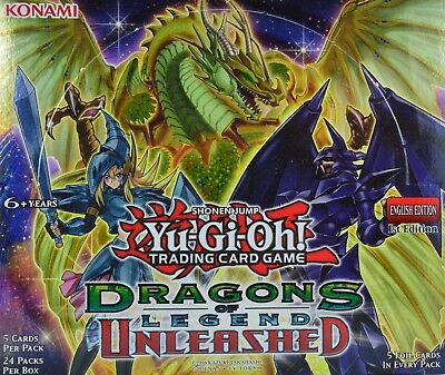 Yugioh Dragons of Legend Unleashed, DRL3, Ultra Rare 1st Edition Pick from list