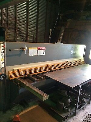 Atlantic Shear Model 10x1/4 Stainless 3/16 / Atlantic 120 Ton PressBreak Bundle