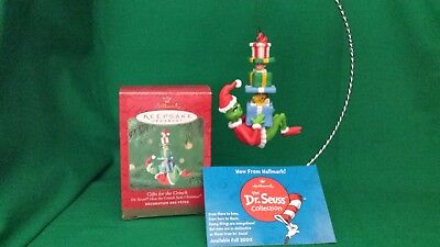 2000 Hallmark Dr Seuss How The Grinch Stole Christmas Gifts For Grinch  New