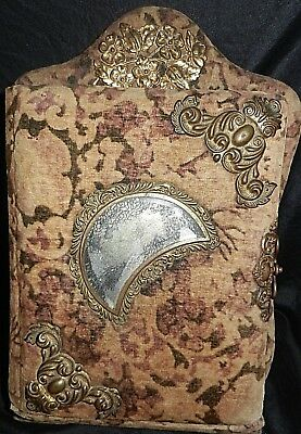ANTIQUE VICTORIAN VELVET PHOTO ALBUM 1800's