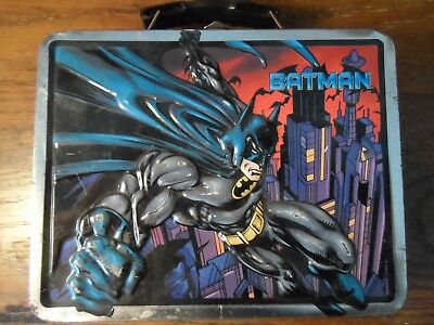 vintage Batman tin lunch box