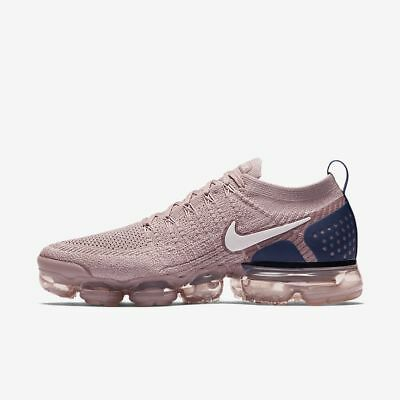 """Men Brand New Nike Air VaporMax Flyknit 2 """"Diffused Taupe"""" Sneakers [942842 201]"""