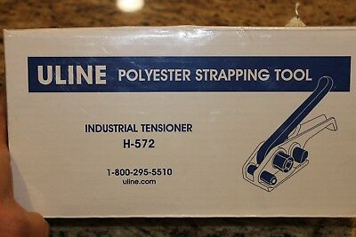 Uline Polyester Strapping Tool Industrial Tensioner # H-572 New In Box Old Stock