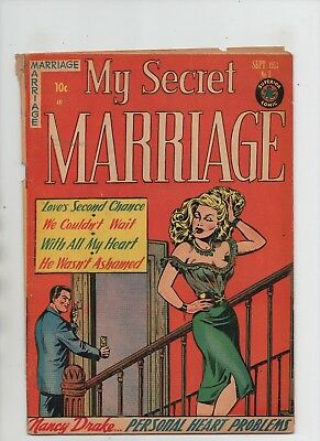 My Secret Marriage #3 - Love's Second Chance & More - (Grade 4.5) 1953