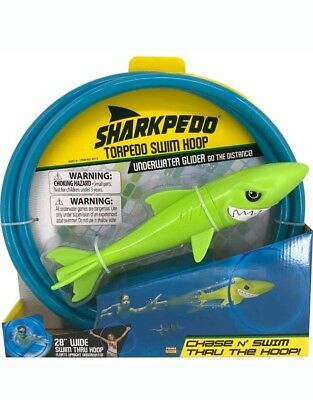 Sharkpedo Torpedo Swim Hoop (Underwater Glider and Thru Hoop)