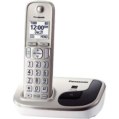 Panasonic KX-TGD210 DECT 6.0 Digital Cordless Home Phone System w/ Call Block