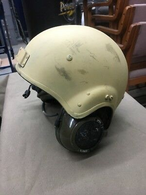 Original British Vehicle Tanker Helmet from the Gulf Thru Current S.T.H. Type