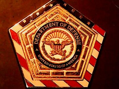 Challenge Coin- Medal Department Of Defense U.s.a. ( Beautiful Coin) Free Ship++