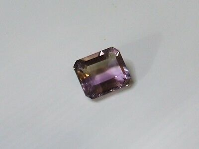 Natural Ametrine emerald cut quality gem...4.7 Carat