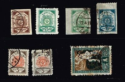 LATVIA STAMP Collection Lot   -2