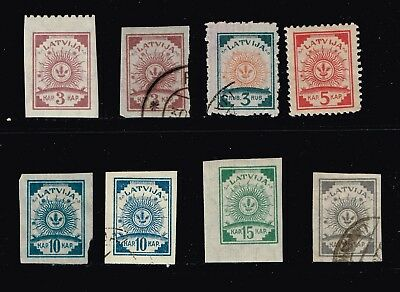 LATVIA STAMP Collection Lot   -3