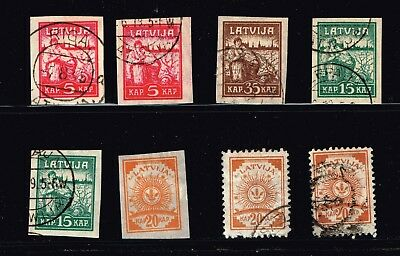 LATVIA STAMP Collection Lot   -4