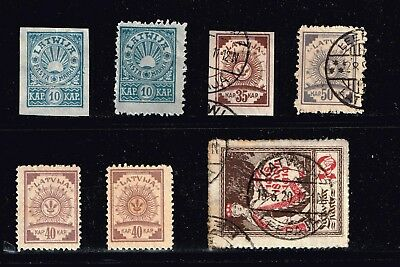 LATVIA STAMP Collection Lot   -5