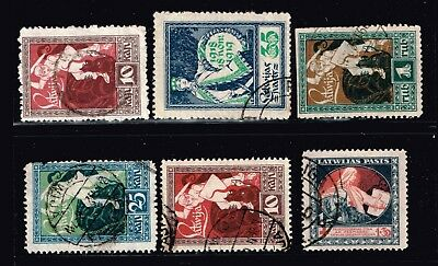 LATVIA STAMP Collection Lot   -7