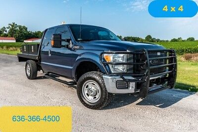 2015 Ford F250 xl Used flatbed 4wd extended cab tool boxes work truck inspected