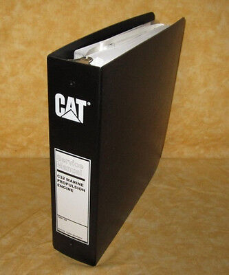 SENR9900 OEM CATERPILLAR C32 Marine Engine Factory Service Shop Repair  Manual