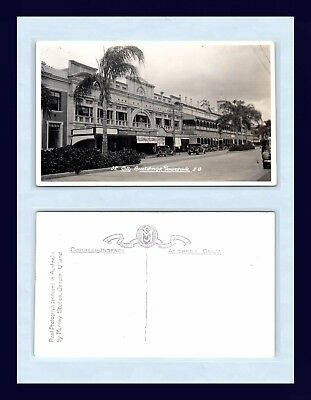 Australia Townsville Real Photo Postcard By Murray Studios Created Circa 1925