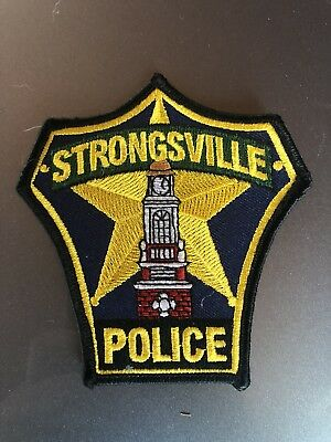 Strongsville, Ohio Police Patch
