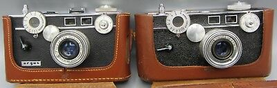 Lot of 2 Vintage Cameras / Argus Brick - No Reserve