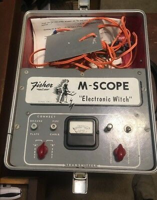 Fisher M-Scope Pipe and Cable Locator Leak Detecter