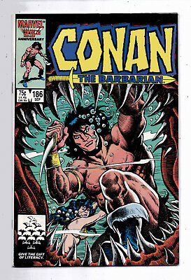 Conan the Barbarian #186 and #187, Marvel, 1986, VF+ condition