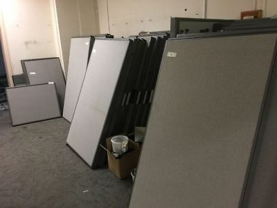 Office Workstation Partition $65/each Furniture Dividers H162xL90xW7.5cm