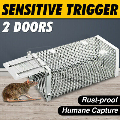 Animal Trap Cage Humane Live Possum Fox Rat Bird Rabbit Hare Catch