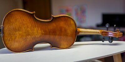 Violin Stradivari model 4/4, With Case And Bow